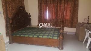 Bed Frame Styles arabian style wooden king size bed frame qatar living 3249 by xevi.us