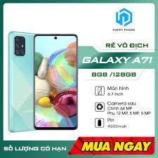 Điện Thoại Samsung Galaxy A71 128GB | Hàng chính hãng | Nguyên seal, mới  100% | Bảo hành 12 tháng