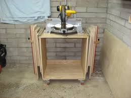 portable chop saw table. mobile miter saw stand portable chop table