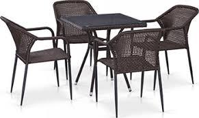 <b>Комплект мебели Афина T</b> 282 BNT/Y 35-W 2390 Brown 4Pcs ...