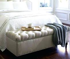 tufted ottomans benches tufted storage bench with bedroom ottoman cane throughout design tufted ottoman bench diy