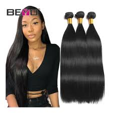 Hair Length Chart Bundles Beyo Straight Hair Bundles 100 Human Hair Bundles Non Remy