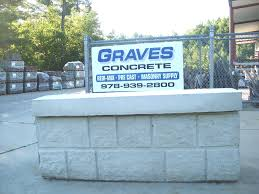 large concrete blocks are made from concrete that has been returned in our trucks from previous loads they are an economical and fast way to construct a