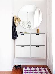 shoe furniture. ditch the clutter 30 minimalist entryways shoe furniture