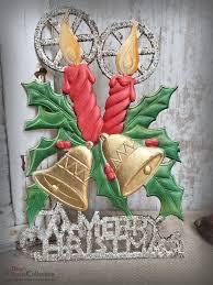 Dresdner Pappe Fensterbild Glocken Kerzen Ilex A Merry Christmas Weihnachtsdeko Frohe Weihnachten Fensterdeko Hw3892kg