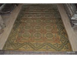 handmade hand knotted Turkish Oushak area rug on Sale only