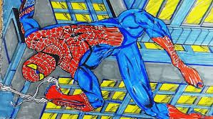 Small Picture Coloring Book Spiderman YouTube