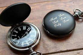 pocket watches engraved groomsmen gifts personalized gifts for personalized pocket watch black matte black and white dial personalized groomsmen gift for him birthday engraved father s day