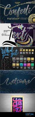 Confetti Brush Photoshop Confetti Effect For Photoshop 2175408 Uxfree Com