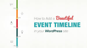 Event Timeline How To Add Beautiful Event Timeline In WordPress YouTube 7