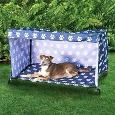 diy pvc dog bed indoor outdoor dog bed canopy cover and shade frame ideas from outdoor
