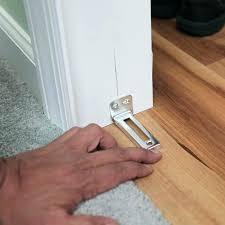 closet door track step 2 repair floor doors without