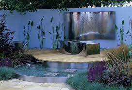 image 3 of 11 image to enlarge modern small garden stylish water features