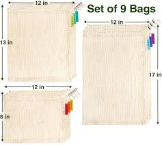 Colony Co. Reusable Produce Bags, Certified ... - Amazon.com