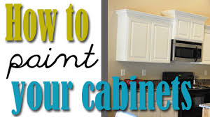 How To Paint Your Kitchen Cabinets {professionally} | All Things Thrifty