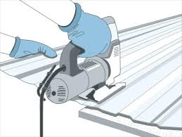 best way to cut sheet metal cutting corrugated stainless steel with angle grinder jigsaw can i a