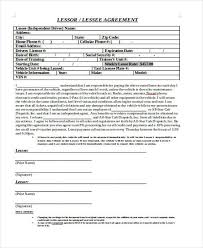 lease agreement sample sample truck lease agreements 9 free documents in word pdf