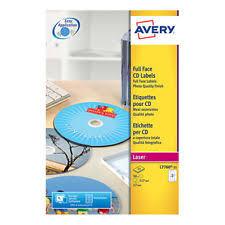 Avery 8942 White Glossy Cd Labels Ebay