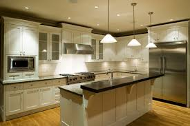 Image of: Island Kitchen Lighting Picture