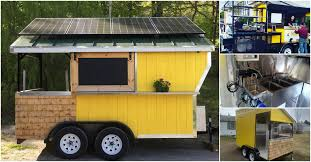 this tiny food cart is adorable and economical for