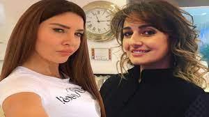 شاهد ملامح ابنة حلا شيحة الأوروبية تشعل انستقرام ولاميتا فرنجية برفقة ابنها  جاستن في دبي
