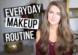 a few weeks ago i promised that a you video on my everyday makeup routine would be ing soon i m not very good on camera haha but hopefully you