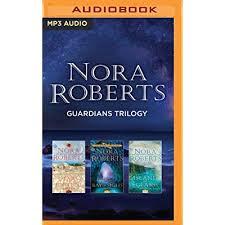 Já li vários livros dela, mas nunca nenhum voltado para fantasia. Nora Roberts Guardians Trilogy Stars Of Fortune Bay Of Sighs Island Of Glass By Nora Roberts
