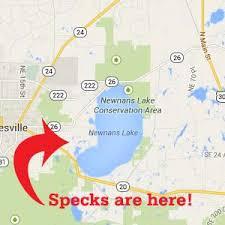Speckled Perch Remain Abundant At Newnans Lake Garys
