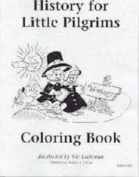 history for little pilgrims grade 1 coloring book