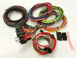 street rod wiring harness kit ewiring custom wiring harness kits all about diagram