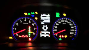 2006 Honda Crv Warning Lights 2007 Honda Cr V 2 4 Instrument Cluster Test Youtube