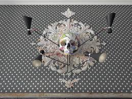 Skull Wallpaper For Bedroom 3 One Bedroom Homes With Sharp Geometric Decor