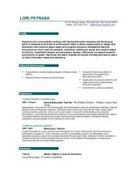 How To Make A Resume For Teaching Job Resume Sample