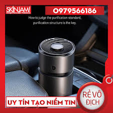 Máy khử mùi và lọc không khí dùng cho xe hơi Baseus Breeze fan Air  Freshener (with Formaldehyde Purification Function) - Máy lọc không khí  Thương hiệu No Brand