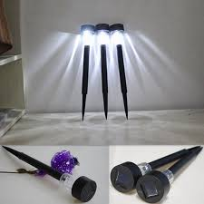 Led U0026 Solar Landscape Lighting Decorative Lights  Bed Bath U0026 BeyondSolar Landscape Lighting Stakes