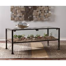 wonderful terrarium coffee table with wildon home amp reviews wayfair white furniture square wall art rugs round sofa couches small tables