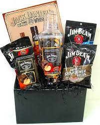gf108 jack daniels and jim beam gift basket