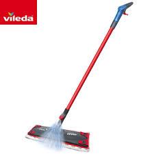details about vileda 1 2 spray mop wood tiles laminate hard floor cleaning microfibre pad flat