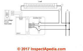 line voltage thermostat wiring diagram line image convert line voltage thermostat to low voltage nest on line voltage thermostat wiring diagram
