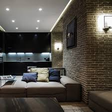 recessed lighting and modern wall lights