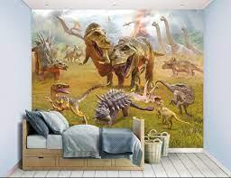 Walltastic 12 Panel Dinosaur Land Mural ...