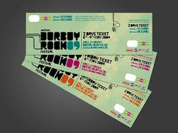 Samples Of Tickets For Events 32 Excellent Ticket Design Samples Ticket Design Ticket