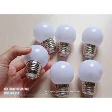 Bộ 5 bóng đèn led tròn - Bóng đèn led chanh
