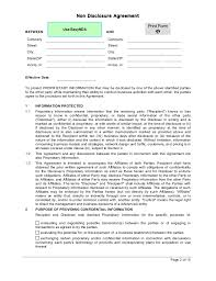 Mutual Confidentiality Agreement EasyNDA Mutual Non Disclosure Agreement printablev100 21