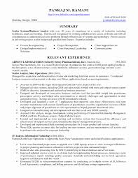 13 Best Of Business Analyst Resume Samples Resume Sample