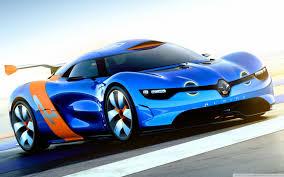 Renault Alpine Concept Car Ultra HD ...