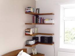 Corner Bookcase Plans Wondrous Corner Wooden Shelf 88 Diy Wood Corner Shelf Plans Corner