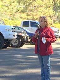 Tracie Riggs, Tuolumne County OES Coordinator, Tree Mortality Tour, October  2016 – myMotherLode.com
