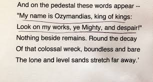 percy shelley ozymandias essay << research paper writing service percy shelley ozymandias essay