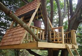 Simple Free Standing Tree House Designs   Wooden Global    Free Very Simple Treehouse Designs